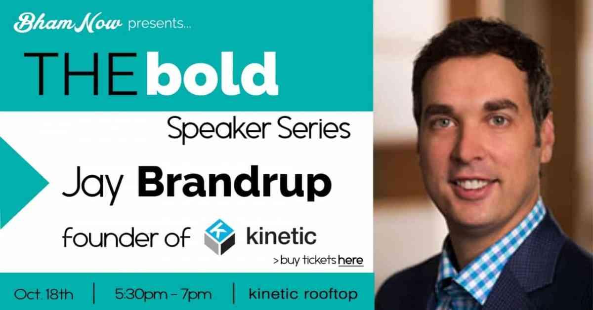 1st BOLD Speaker Series featured @Brandrup