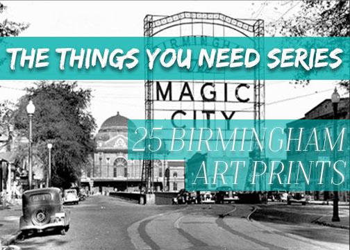 25 Birmingham Art Prints You Need in Your Life