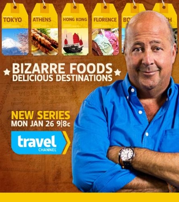 Bizarre Foods comes to Bham