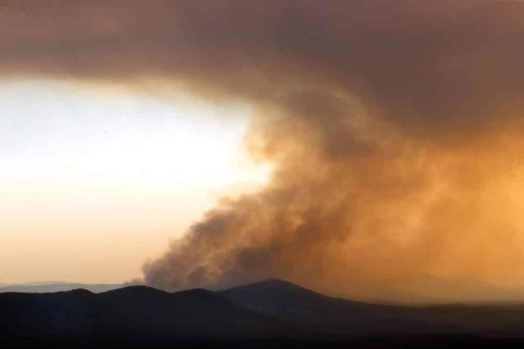 Talladega Wild Fires drought