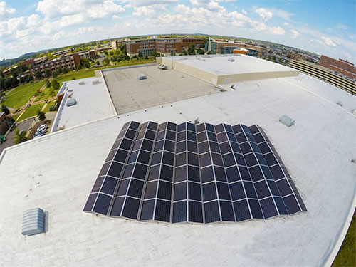 Here comes the sun – UAB goes solar and green