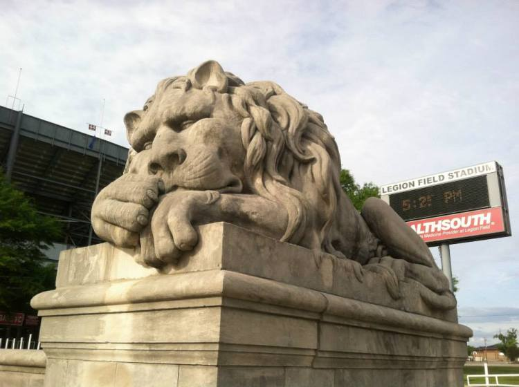 Lions at Legion Field