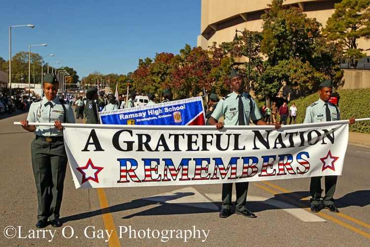 Birmingham's National Veterans Day Parade