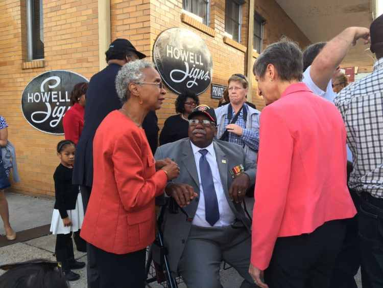Freedom Rider Charles Person and Secretary Sally Jewell