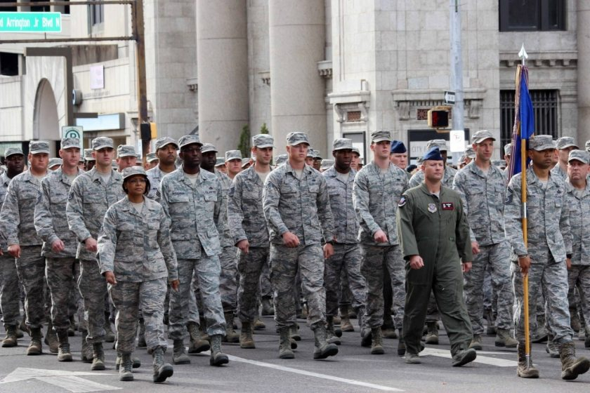 National Veterans Day Parade 2016
