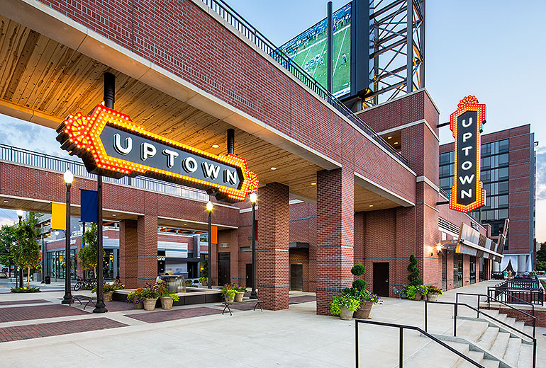 Uptown is upgrading to EV charging stations