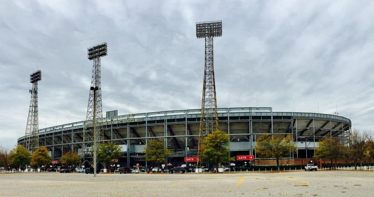 """Legion Field: """"The Old Gray Lady"""" on a gray day in December"""