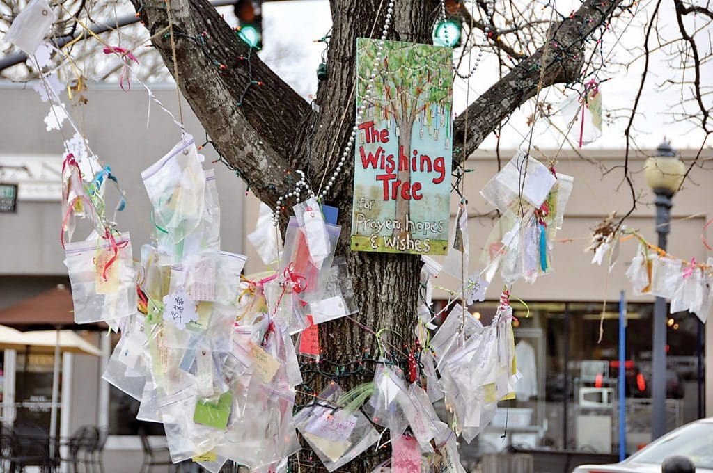 Share a Hope, Wish, or Prayer at the Annual Homewood Wishing Tree