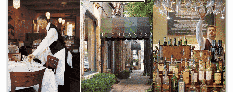 National Spotlight for Bham Restaurant – Highlands Bar and Grill