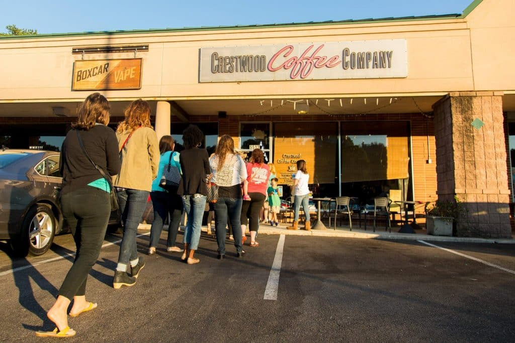 Donating tips this Wednesday: Crestwood Coffee steps up to help Urban Standard