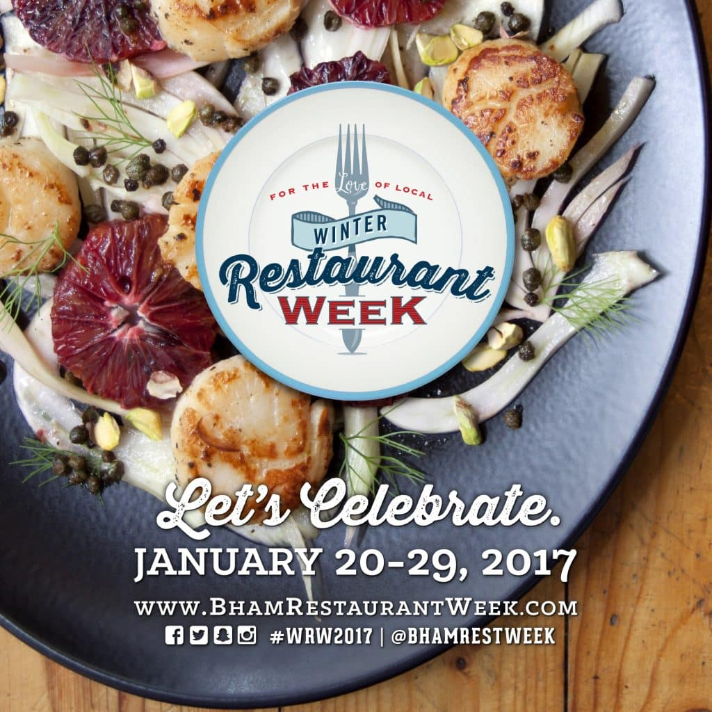 5 Reasons you should be going to Bham's Winter Restaurant Week
