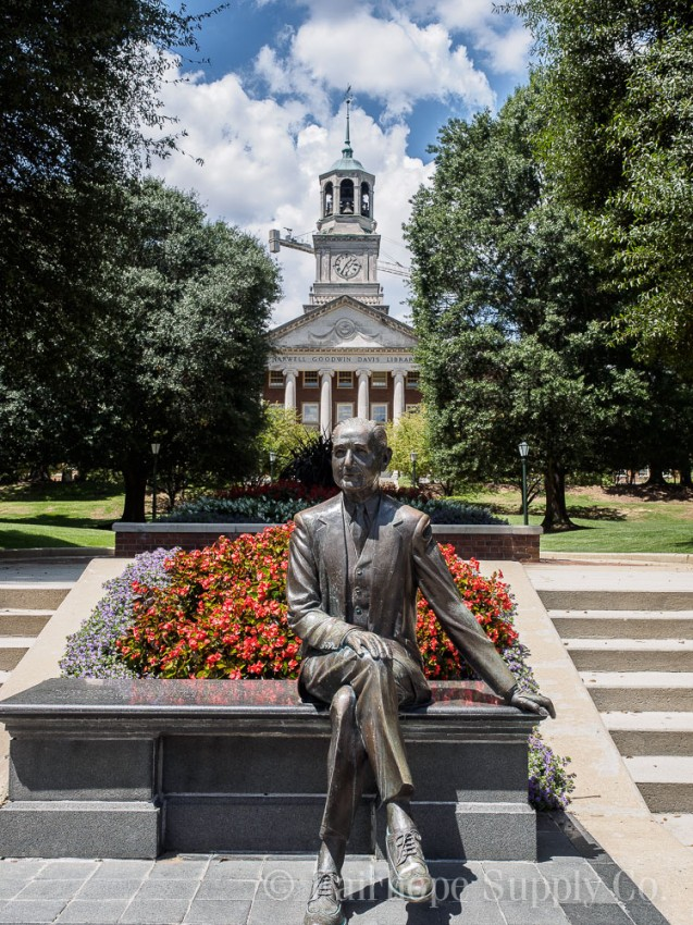 Samford University sets up for Major Renovations to Infrastructure