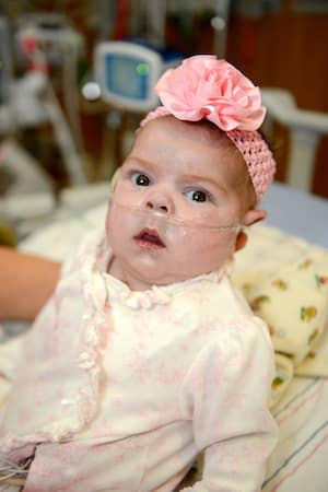Baby Parker Beats the Odds at Children's Hospital