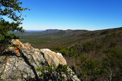 View from Pinhoti Trail. Photo by McDowell Crook/Flickr