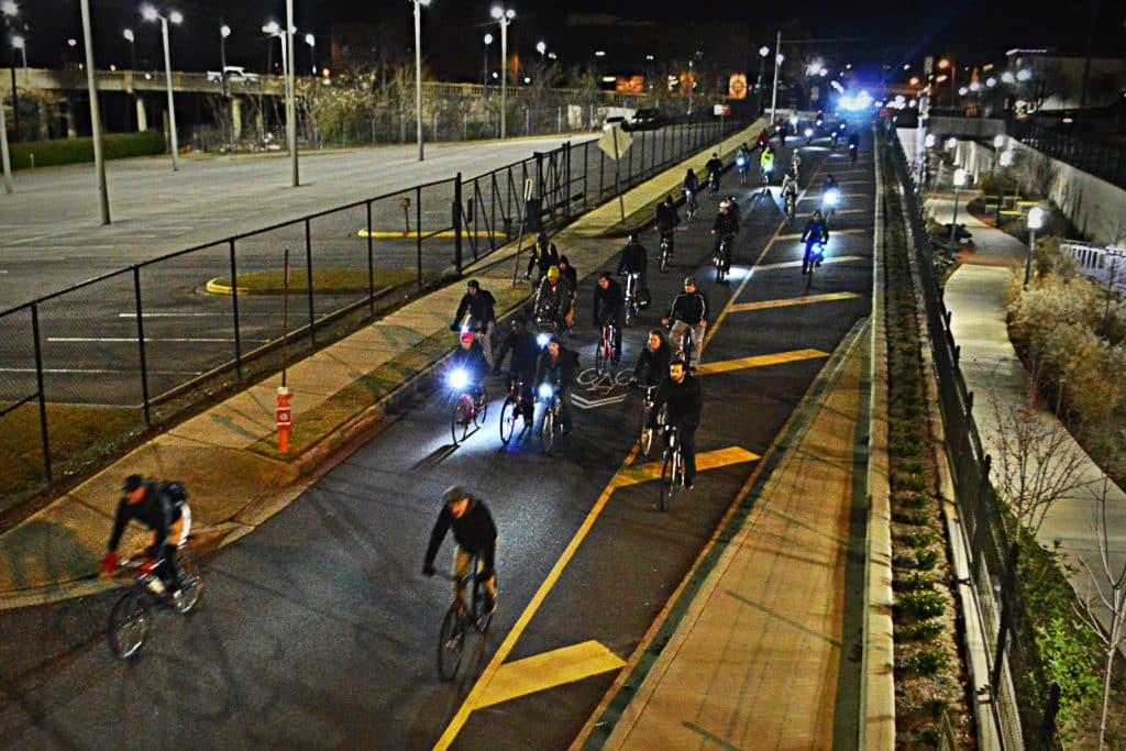 Would you cycle at night in Bham?