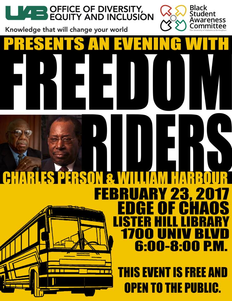 They changed the world: A special evening at UAB with the Freedom Riders