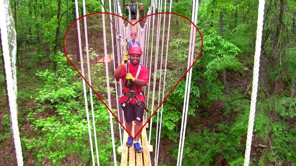 Birmingham Lover's Leap Red Mountain Zip Line 80 ft plunge