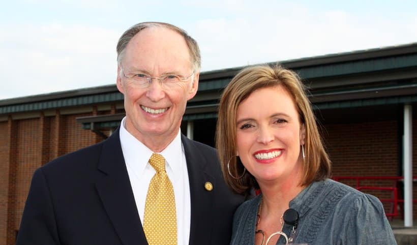 Governor Bentley is up a river. Can you guess which one?