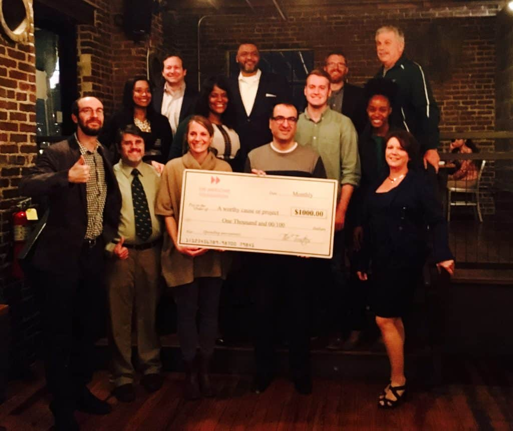 """BE Calm and BE AWESOME"" $1000 at a time – The Awesome Foundation Birmingham Chapter"