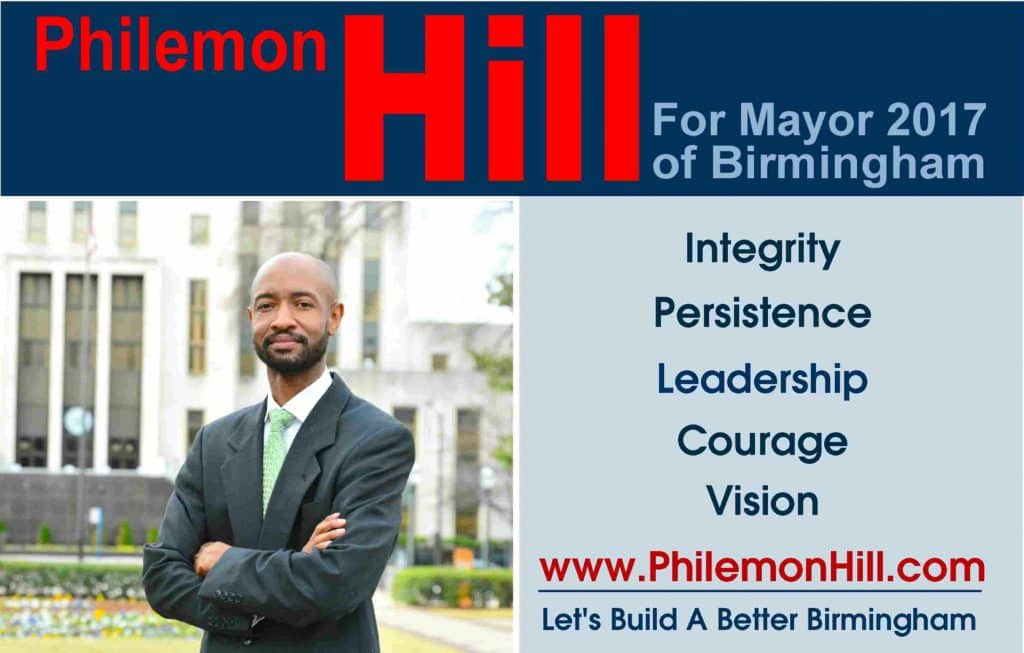 Birmingham, Alabama mayoral candidate interview: Philemon Hill