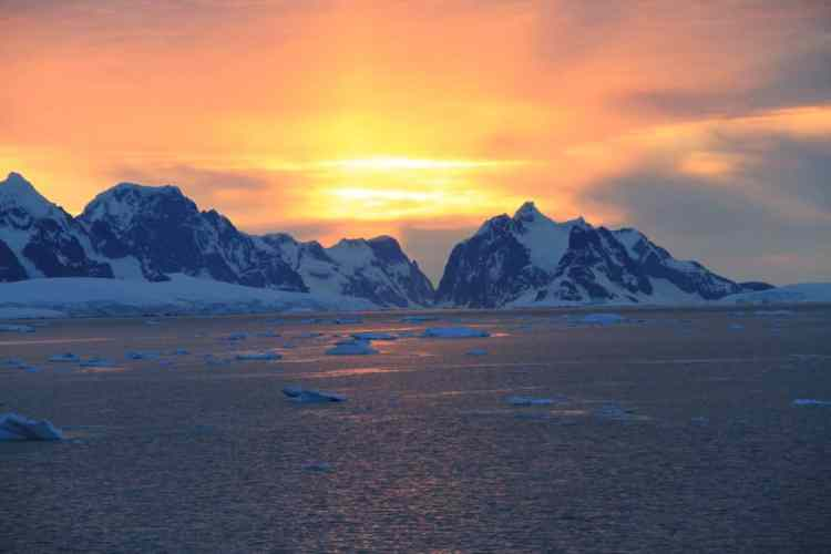 View of Antarctica