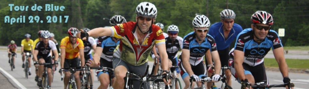 Celebrate the 10th Annual Tour de Blue this Weekend