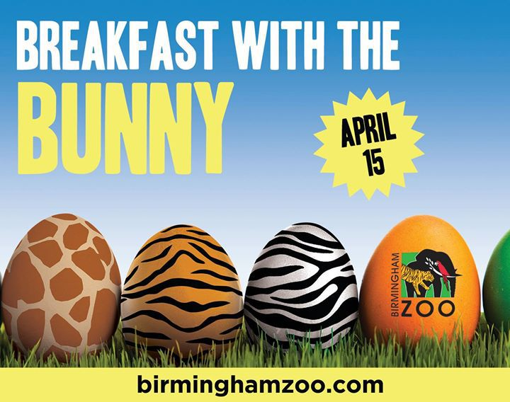 Breakfast with the Bunny Birmingham AL Top THings to do Birmingham APril 12th 18th