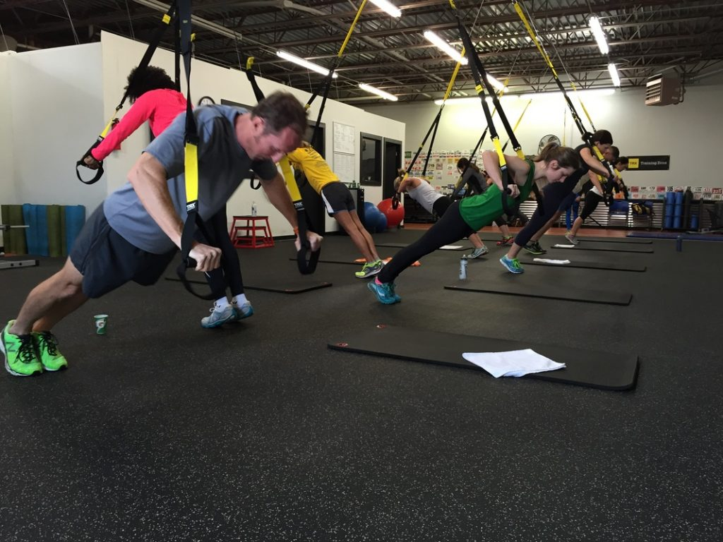 Try a TRX Suspension workout in Birmingham