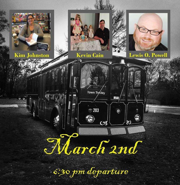 Haunted House Trolley Birmingham AL