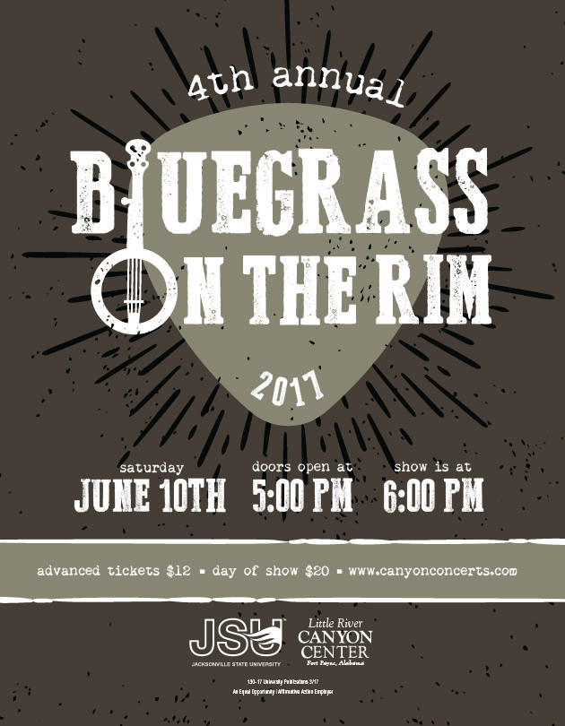 Bluegrass on the Rim to benefit environmental education