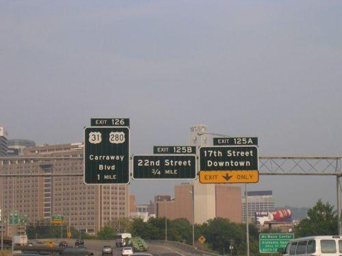 125A, I-20/59, I-65, Birmingham, Alabama,