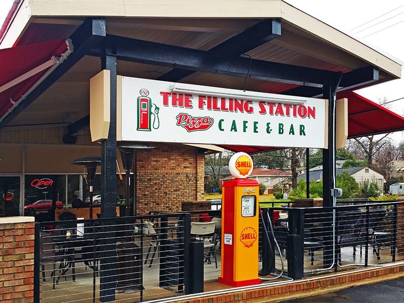Bham Now Birmingham AL The Filling Station Cafe and Bar Dog Friendly