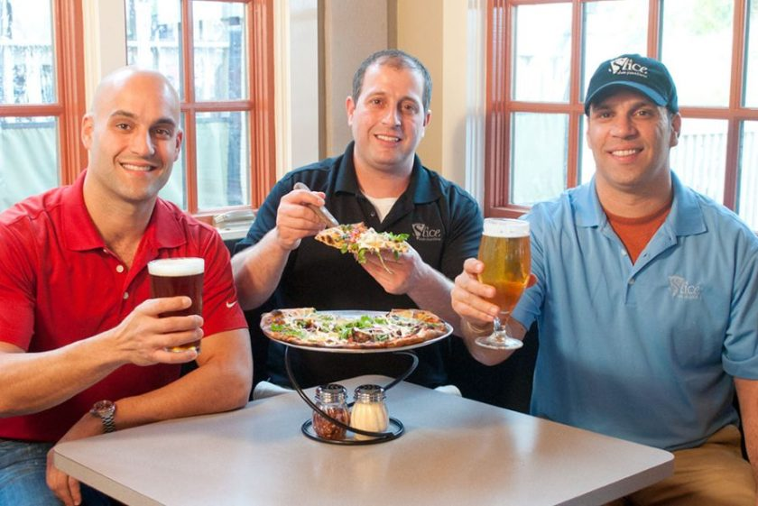 Slice Pizza and Brewhouse owners