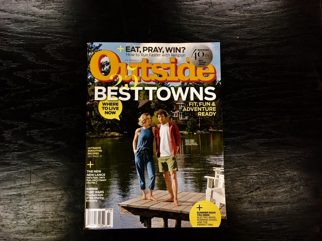 Birmingham included in Outside Magazine's 25 Best Towns of 2017 edition