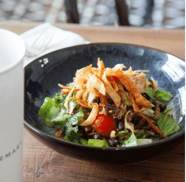 Image may include: southwest salad