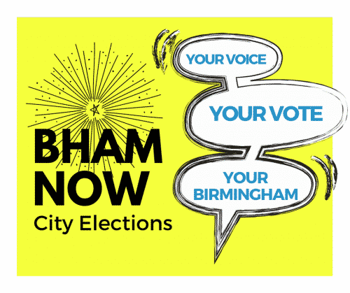 Bham Now, City Council, Campaign, Graphic, Voting, Municipal, Alabama, District 4, candidate