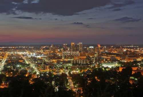 view of Birmingham