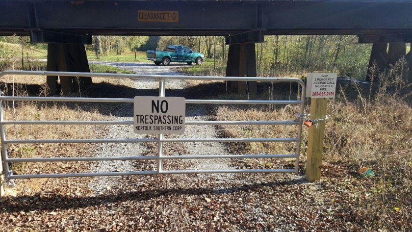blocked exit Trussville Alabama