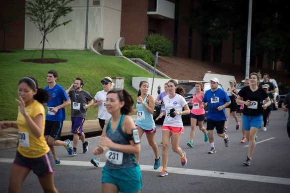 5K runners from the EAB Heart and Sole in Birmingham