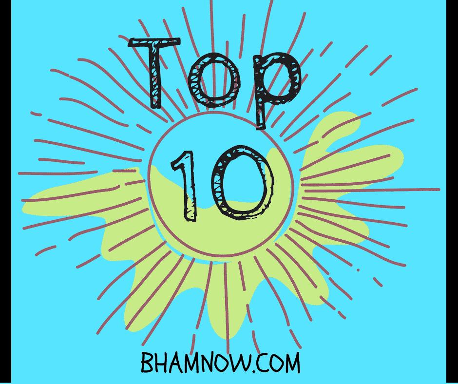 Birmingham Top Ten: September 20th-26th
