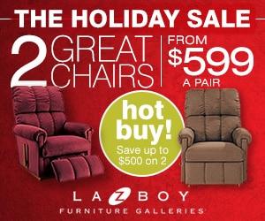 La-Z-Boy Ad december 2