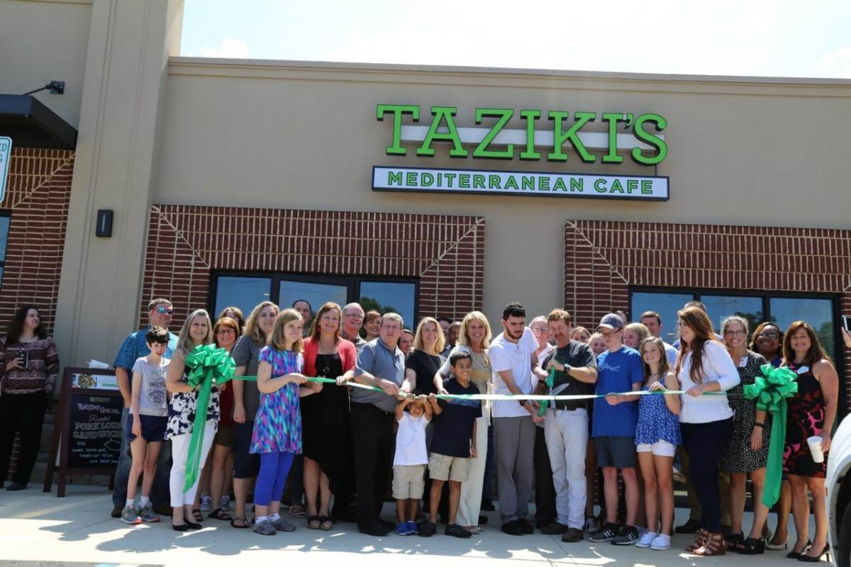 taziki's welcomes future new look and newest addition in alabaster -