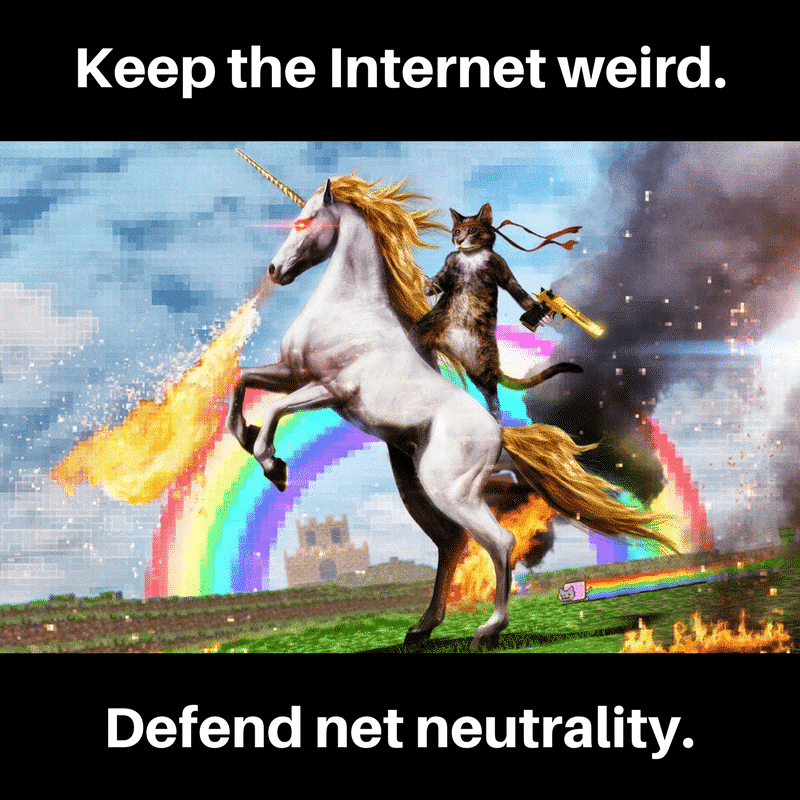 Net Neutrality, or why you don't pay extra for Netflix