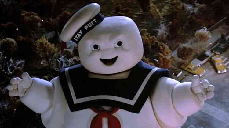 stay puft marshmallow ghostbusters
