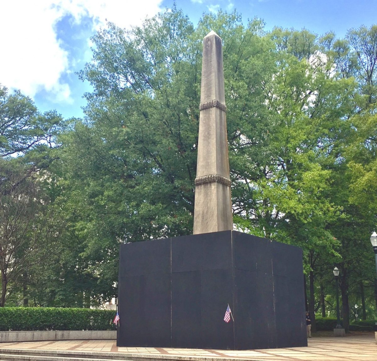 Take our poll!  What do you think should happen to the monument?
