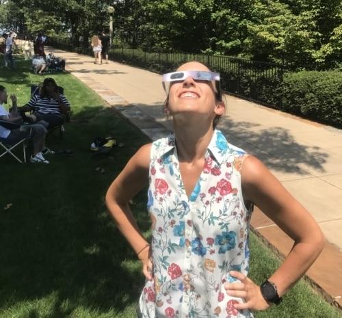 Vulcan Park Birmingham eclipse viewing