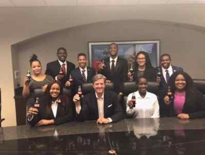 Interns from Coca-Cola Bottling Company UNITED