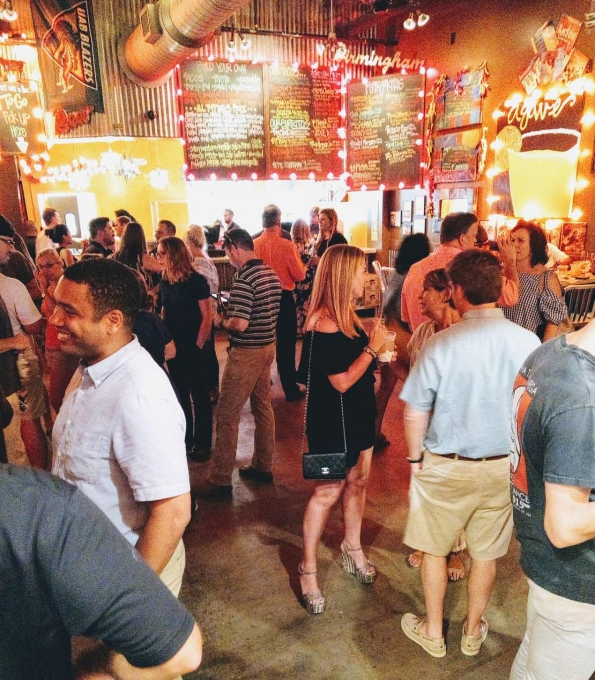 Taco Mama Preview Party-The Waites-New Development-Downtown-Birmingham-Alabama