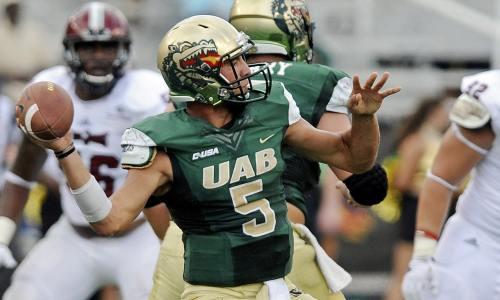 UAB Blazer quarterback