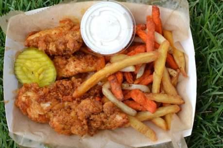 Eugene's hot chicken chicken